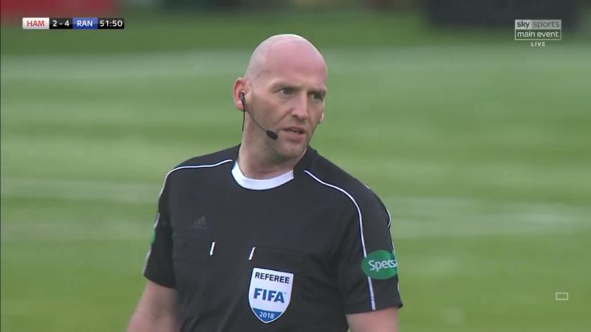 Referee Bobby Madden