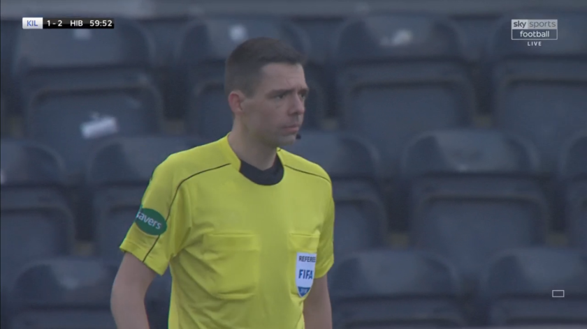 Kevin Clancy referee