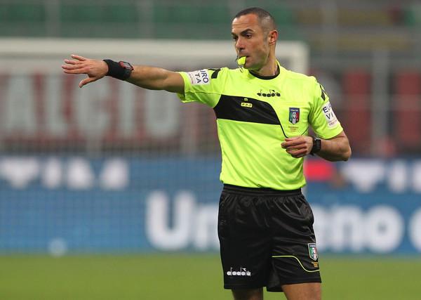 Referee Marco Guida